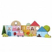 Brinquedo Educativo de Madeira Baby Construtor