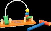 Brinquedo Educativo de Madeira Bate Bola