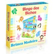 Brinquedo Educativo de madeira  Bingo dos Bichos