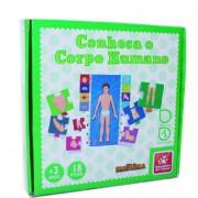 Brinquedo Educativo de Madeira Conhecendo o Corpo Humano