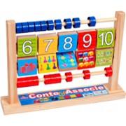 Brinquedo Educativo de Madeira Conte & Associe