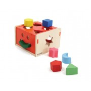 Brinquedo Educativo de Madeira Encaixa na Caixa