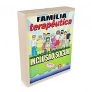 Brinquedo Educativo de Madeira Família Terapêutica Inclusão Social
