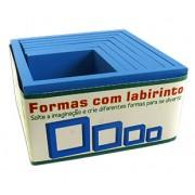 Brinquedo Educativo de Madeira Formas com Labirinto