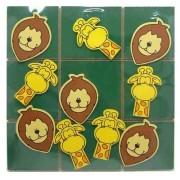 Brinquedo Educativo de Madeira Jogo da Velha Floresta
