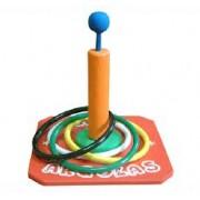 Brinquedo educativo de Madeira Jogo de Argolas
