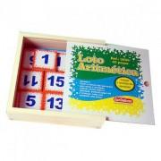 Brinquedo Educativo de Madeira Loto Aritmético