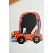 Brinquedo Educativo de Madeira Lousa Carro