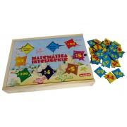 Brinquedo Educativo de Madeira Matemática Inteligente