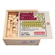 Brinquedo Educativo de Madeira Material Dourado Individual 62 Peças