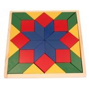 Brinquedo Educativo de Madeira Mosaico
