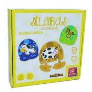 Brinquedo Educativo de Madeira Sílabas dos Bichos