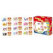 Brinquedo Educativo de Madeira Tic Tac dos Bichos