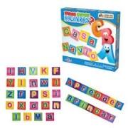 Brinquedo Educativo de Madeira Vamos Formar as Primeiras Palavras