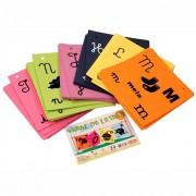 Brinquedo Educativo de Madeira Varal de Letras