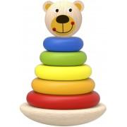 Brinquedo Educativo de Montar Urso de Encaixe de madeira