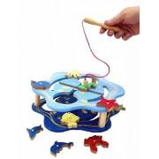 Brinquedo Educativo deMadeira  Pescaria Magnética