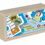 Brinquedo Educativo Dominó Alimentação Saudável