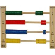 Brinquedo Educativo em Madeira Ábaco do Aluno para Ensino da Matemática