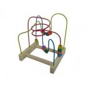 Brinquedo Educativo em madeira Aramado Montanha Russa Pedagógica P