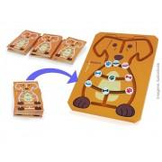 Brinquedo Educativo em madeira Labirinto Animal