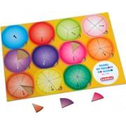 Brinquedo Educativo em Madeira Painel de Frações do Aluno