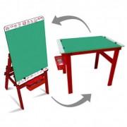Brinquedo Educativo em madeira Quadro Convertível 2 em 1