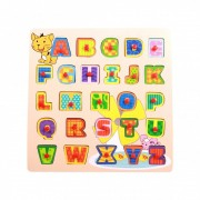 Brinquedo Educativo Encaixe e Brinque Letras