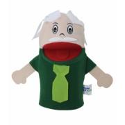 Brinquedo Educativo Fantoche de Mão Avô Branco