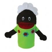 Brinquedo Educativo Fantoche de Mão Avó Negra