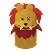 Brinquedo Educativo Fantoche de Mão Leão