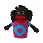 Brinquedo Educativo Fantoche de Mão Menina Negra
