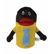 Brinquedo Educativo Fantoche de Mão Pai Negro