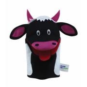 Brinquedo Educativo Fantoche de Mão Vaca
