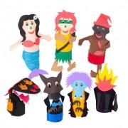 Brinquedo Educativo Fantoche Folclore