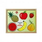 Brinquedo Educativo Frações nas Frutas