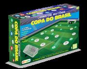 Brinquedo Educativo Jogo de Futebol de Botão 2 times Caixa