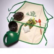Brinquedo Educativo Kit Jardineiro Avental e acessórios