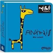 Brinquedo Educativo Livro Animais Milomania
