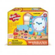 Brinquedo Educativo Super Massa Aprendendo as Horas Estrela