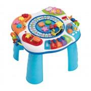 Brinquedo Educativo Super Mesa de Atividades Piano e Trem com gravação em Português