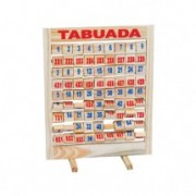 Brinquedo Educativode madeira  Tabuada Giratoria