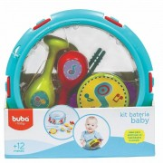 Brinquedo Kit Bateria Baby