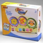 Brinquedo para Pintar e Brincar Pratinhos Coleção Art & Craft ZP00230