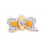 Brinquedo Sensorial Borboleta Chocalho de Madeira