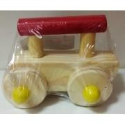 Brinquedo Speedy Car carrinho de madeira