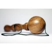 Brinquedo Tradicional de Madeira Bilboquê Bola