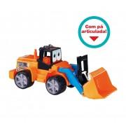 Brinquedo Trator Mega Escavator Dismat