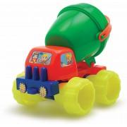 Caminhão Transforma Verão Betoneira Brinquedo de Aresia  Big Star