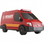 Carrinho Supervan Resgate Roma Jensen